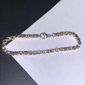Tiffany-inspired chain link bracelet
